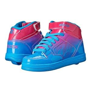 Heelys 2.0 Fly blue pink roller skate wheel shoes